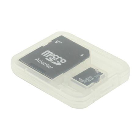 Image of   Mikro SD (TF)-hukommelseskort 2 GB, høj hastighed, klasse 4