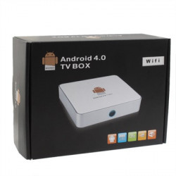 TB-A100 Full HD 1080p Android 4,0 TV Box Media Player with WiFi, HDMI + USB + RJ45 interface, Support SD-Kort / USB Flash Disk