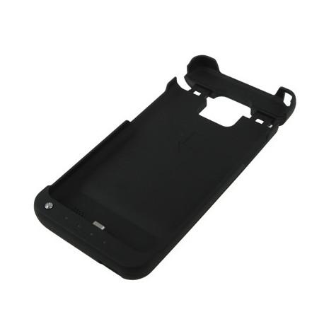 Image of   2200 mAh bærbart eksternt batterihylster til Samsung Galaxy SII / i9100