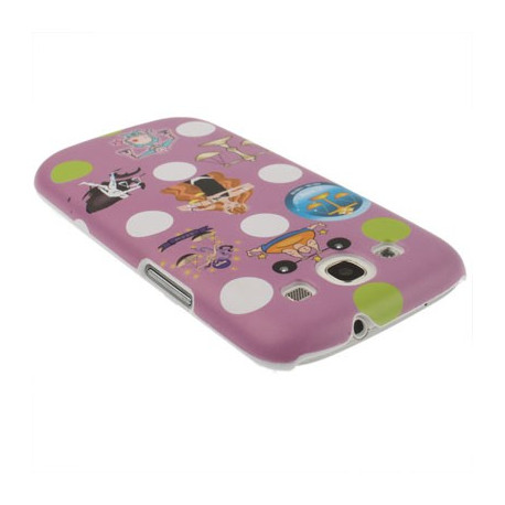 "Image of   12 Constellations Series ""Vægten"" Plasticcase til Samsung Galaxy SIII / i9300"