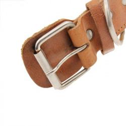 New Style Durable 3,6 x 75 Syntetisk læder Hundehalsbånd Kæledyr Halsrem