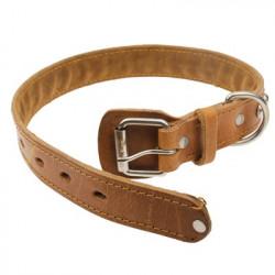 New Style Durable 3,0 x 66 Syntetisk læder Hundehalsbånd Kæledyr Halsrem