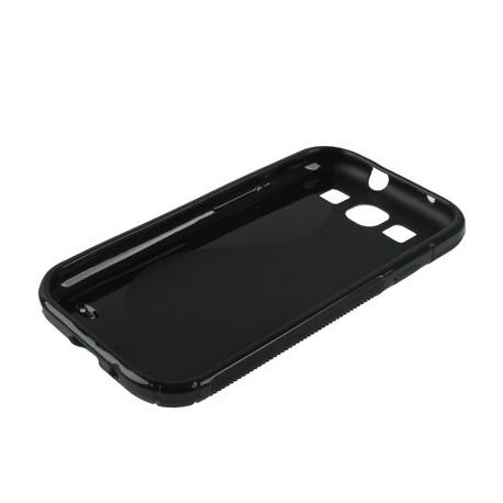 Image of   Beskyttelseshylster til Samsung Galaxy SIII / i9300, Polyuretan (Sort)