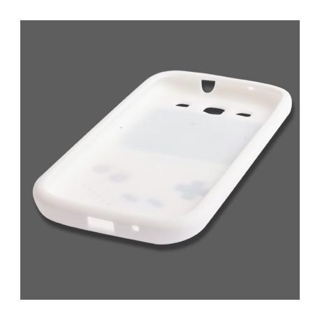 Image of   Silikonehylster i videospil-design til Samsung Galaxy SIII / i9300 (hvid)