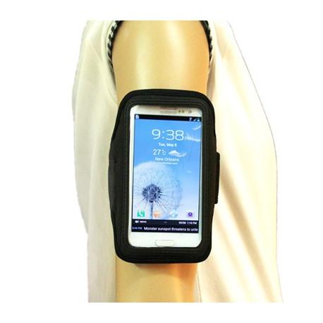 Image of   Armbåndstaske til sport, passer til Samsung Galaxy SIII / i9300, (sort)