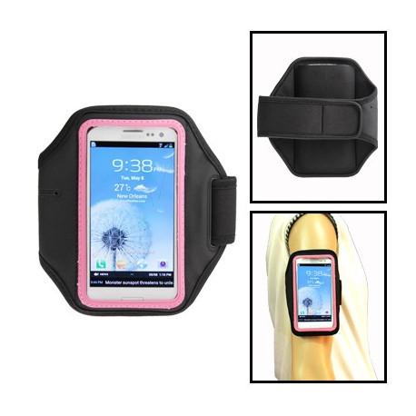 Image of   Sport Armbåndstaske til Samsung Galaxy SIII / i9300 (Vandmelon Rød)