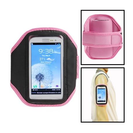 Image of   Sport Armbåndstaske til Samsung Galaxy SIII / i9300 (Pink)