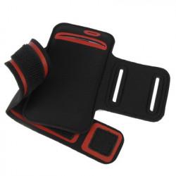Sports Armband Case with øretelefon Hul to Samsung Galaxy SIII / i9300 (Red)