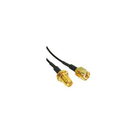 Image of   2.4GHz Wireless RP-SMA Mand til Kvinde Cable (178 High-frekvens Antenne forlængerkabel), Længde: 10M