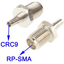 RP-SMA to CRC9 Adapter