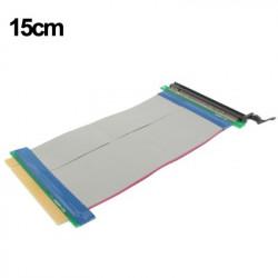 PCI-E Express 16X Riser Card Extender Cable, Kabellængde: 15cm