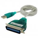 Printerkabel: USB 2,0 til Centronics Konnektor
