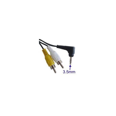 Image of   Digital kamera AV-kabel til CANON