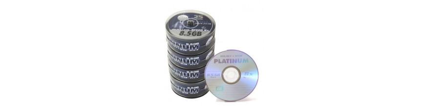 DVD og CD medier og tilbehør til gode priser hos Olsens IT