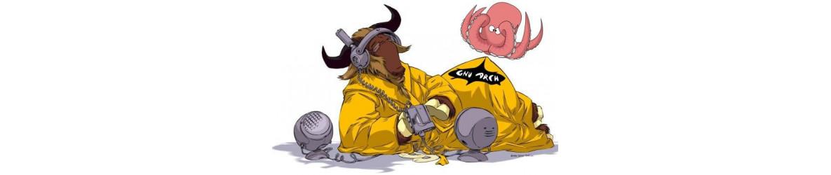 Vi bygger og supporterer GNU/Linux hardware/software